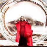 Edurne, con una gran puesta en escena en el primer ensayo del 'Festival de Eurovisión 2015'