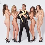 Begoña Alonso, Malena Gracia, Torito, Nani Gaitán y Vivi Figueredo