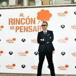 Risto Mejide en la rueda de prensa de presentación de 'Al Rincón de Pensar'