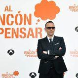 Risto Mejide en la rueda de prensa de 'Al Rincón de Pensar'
