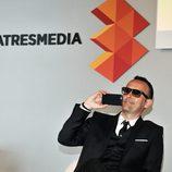 Risto Mejide en la rueda de prensa de 'Al Rincón de Pensar' de Antena 3