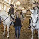 Edurne en la Escuela Española de Equitación de Viena