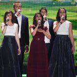 Boggie, Hungría, en la Semifinal 1 de Eurovisión 2015