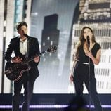 Elina Born & Stig Rästa, Estonia, en la Semifinal 1 de Eurovisión 2015