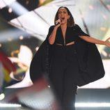 Elhaida Dani, Albania, en la Semifinal 1 de Eurovisión 2015