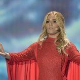 Edurne ensaya en el Festival de Eurovisión 2015 en Viena