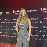 Edurne posa en la rueda de prensa de Eurovisión 2015