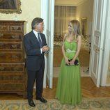 Edurne en la Embajada de España en Viena