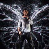 Måns Zelmerlöw, Suecia, en la semifinal 2 de Eurovisión 2015