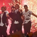 Nadav Guedj, Israel, en la semifinal 2 de Eurovisión 2015