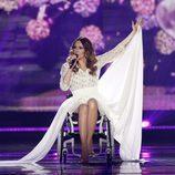 Monika Kuszynska, Polonia, en la semifinal 2 de Eurovisión 2015