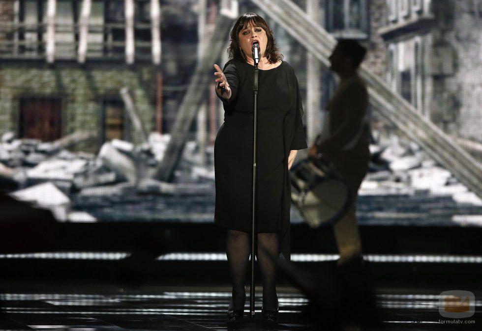Lisa Angell, Francia, en la Final del Festival de Eurovisión 2015