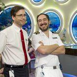 Mariano y Gabriel en el primer capitulo de la primera temporada de 'Anclados'