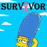 """Marge Simpson en la colección """"Survivor"""" de Alexandro Palombo"""