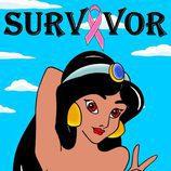 """Jazmin en la colección """"Survivor"""" de Alexandro Palombo"""