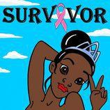 """Tiana en la colección """"Survivor"""" de Alexandro Palombo"""