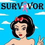 """Blancanieves en la colección """"Survivor"""" de Alexandro Palombo"""
