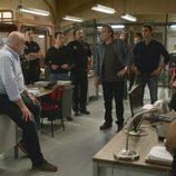 Fran hablando en la comisaría en el séptimo capítulo de la segunda temporada de 'El Príncipe'