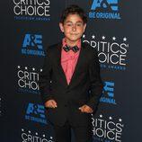 El actor Blake Garrett Rosenthal en los Critics' Choice Awards 2015