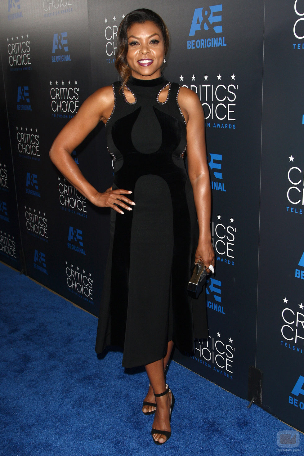 Taraji P. Henson en los Critics' Choice Awards 2015