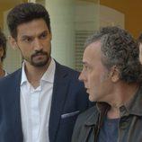 Khaled, Morey y Marcos en en en el octavo capítulo de la segunda temporada de 'El Príncipe'