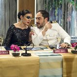 Marga y Gabriel comentando el concurso en el segundo capítulo de 'Anclados'