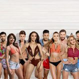 Foto de los participantes en el reality británico 'Love island'