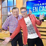 Jorge y César Cadaval, Los Morancos, presentan 'Jugamos en casa'