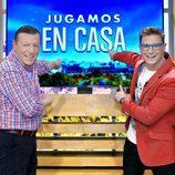 Los Morancos son los presentadores de 'Jugamos en casa'