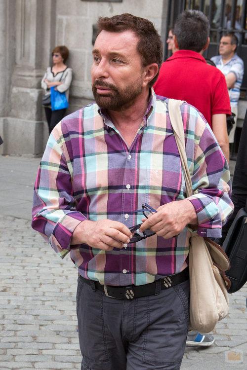 José Manuel Parada acude al funeral de Pedro Zerolo