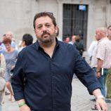 Pepón Nieto acude al funeral de Pedro Zerolo