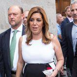 Susana Díaz acude al funeral de Pedro Zerolo