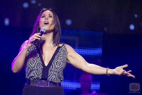 Rosa en la Gala de 7TV Murcia