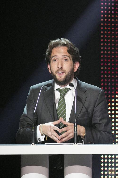 Raúl Berdonés, presidente del Grupo Secuoya, en la Gala de 7TV Murcia