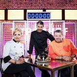 El jurado de la tercera edición de 'Top Chef'