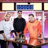 Alberto Chicote, Susi Díaz y Paco Roncero conforma el jurado de la tercera edición de 'Top Chef'