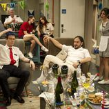 Mariano y Gabriel en el cuarto episodio de 'Anclados'