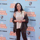 Ángeles Muñoz en la premiere de la película