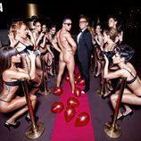 Alberto Isla, desnudo en la alfombra roja de Primera Línea