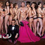 Alberto Isla, desnudo en Primera Línea