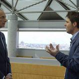 Jesús Cintora habla con el representante de Blackstone para 'En la caja'