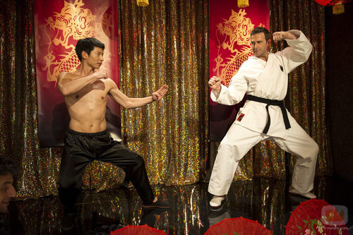 Amador y Josep Lluis practican karate en quinto capítulo de 'Anclados'