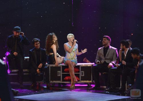 Ana Torroja canta en la final de 'La voz 3'