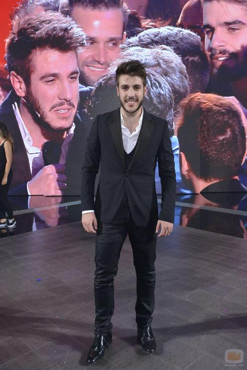 El ganador de 'La Voz 3', Antonio José sonríe tras su triunfo