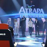 El grupo Auryn en la final de 'La Voz 3'