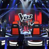 Los finalistas de 'La voz 3' esperan el veredicto de los coaches en la final
