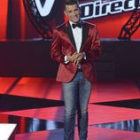 Jesus Vázquez presenta contento la final de 'La voz 3'