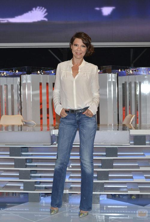 Luna Berlusconi en la presentación oficial de '¡Vaya fauna!'