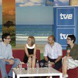 Javier Gallego, Inmaculada Galván, Alipio Gutiérrez y Luz Aldama
