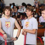 Scott Michael Foster, Zack Lively y Jacob Zachar